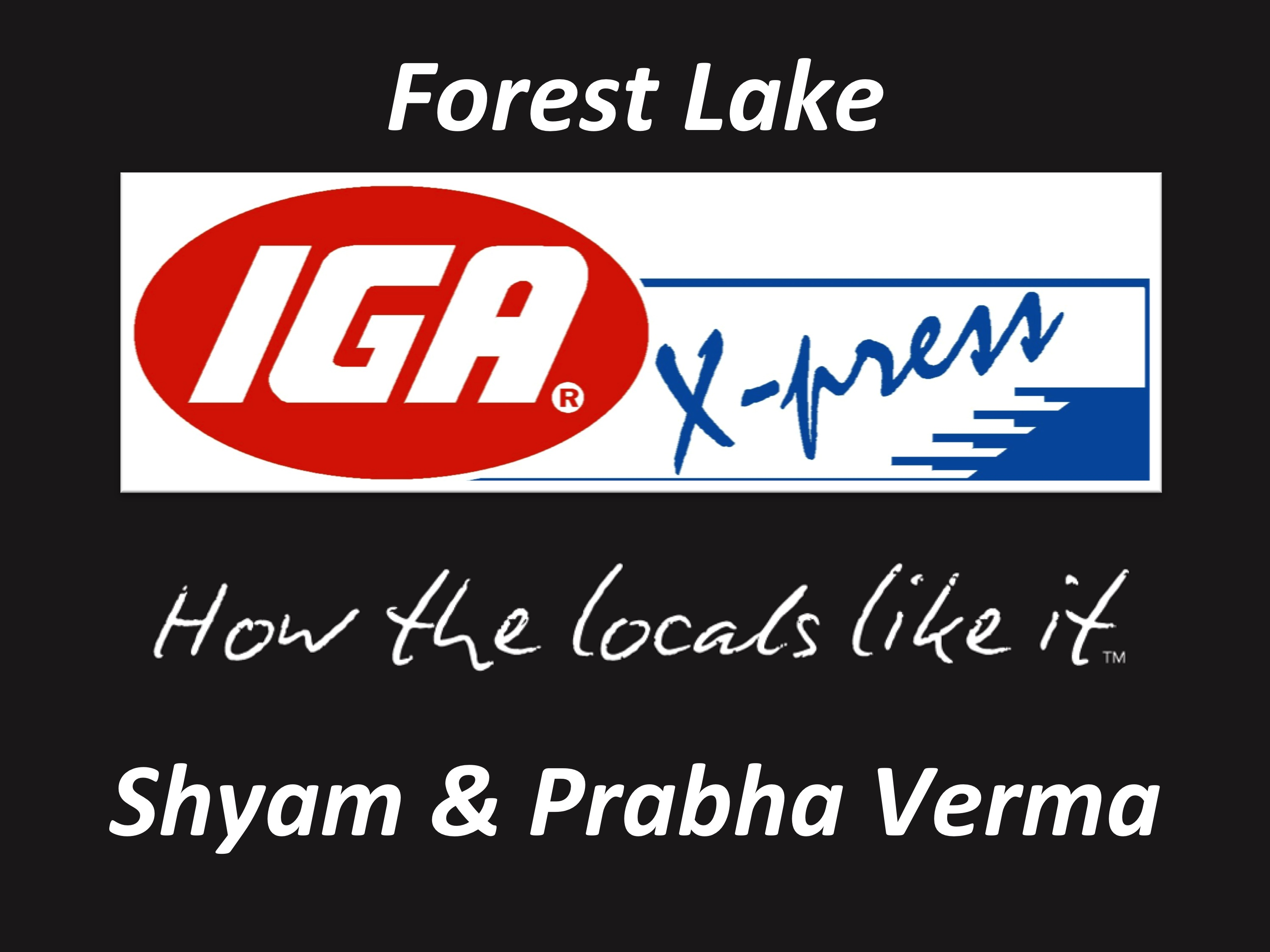 IGA Forest Lake