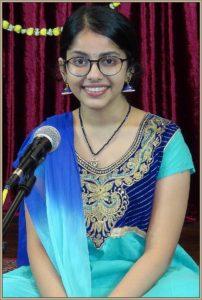 Ananya Muralidharan (Rising Star Award - Hindustani vocal)